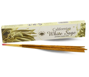 White Californian Sage Incense Sticks