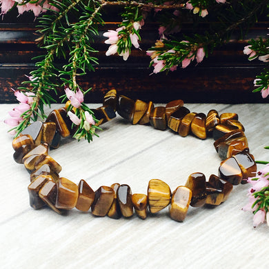 Tiger's Eye Crystal Bracelet