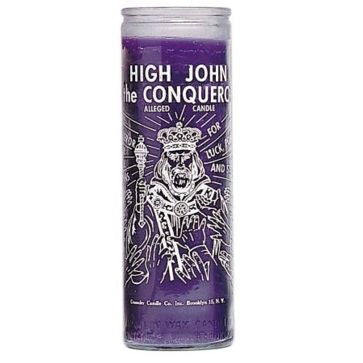 High John the Conqueror 7 Day Glass Candle