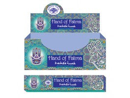 Hand of Fatima Incense Sticks
