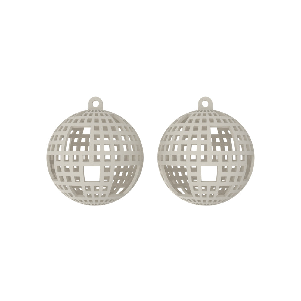 DISCO Earrings Large without Chains