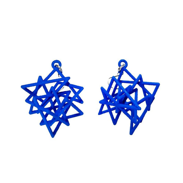 Knight 's Tour Pair Earrings without Chains