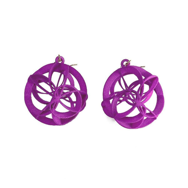 ATOMIC Earrings Large without Chains