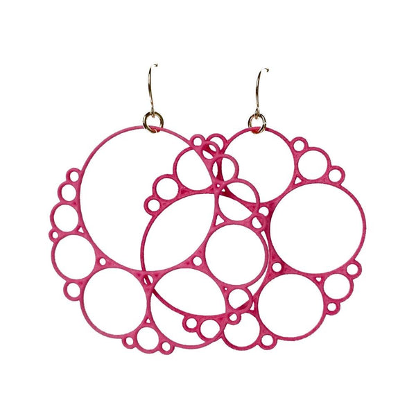 Bubbly Apollonian Earrings