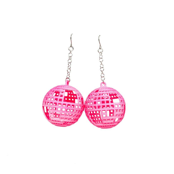 DISCO Earrings Large with Chains