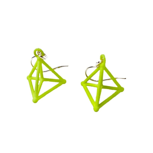 Hyper Simplex Earrings without Chains