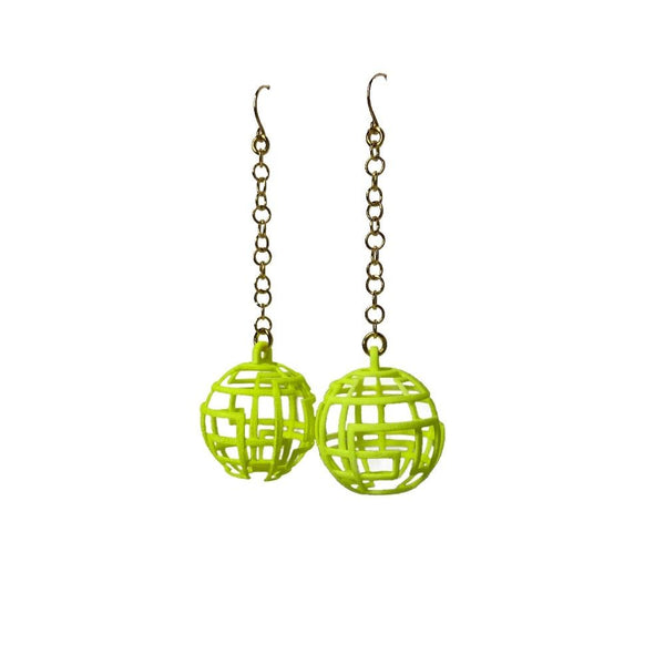 CHAOS Earrings Small with Chains