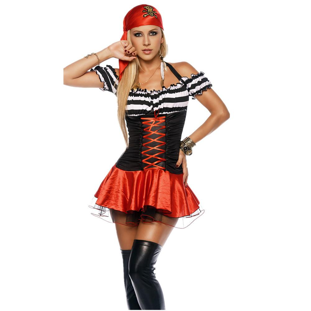 Halloween pirate role-playing female sailor suit