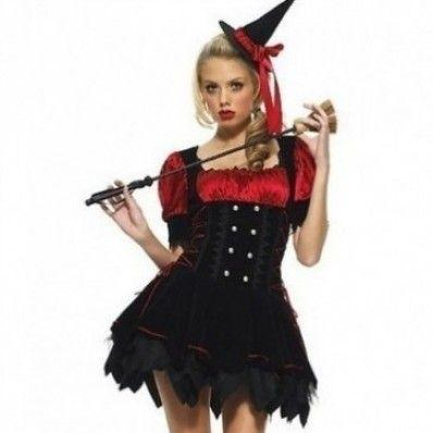 Halloween cute naughty little Witches Costumes
