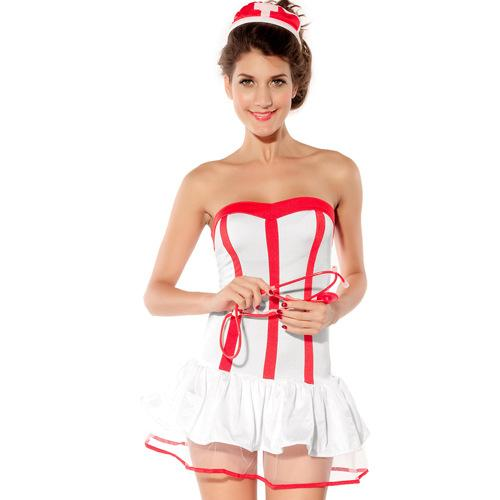 Fashion role-playing suit temptation nurse costume