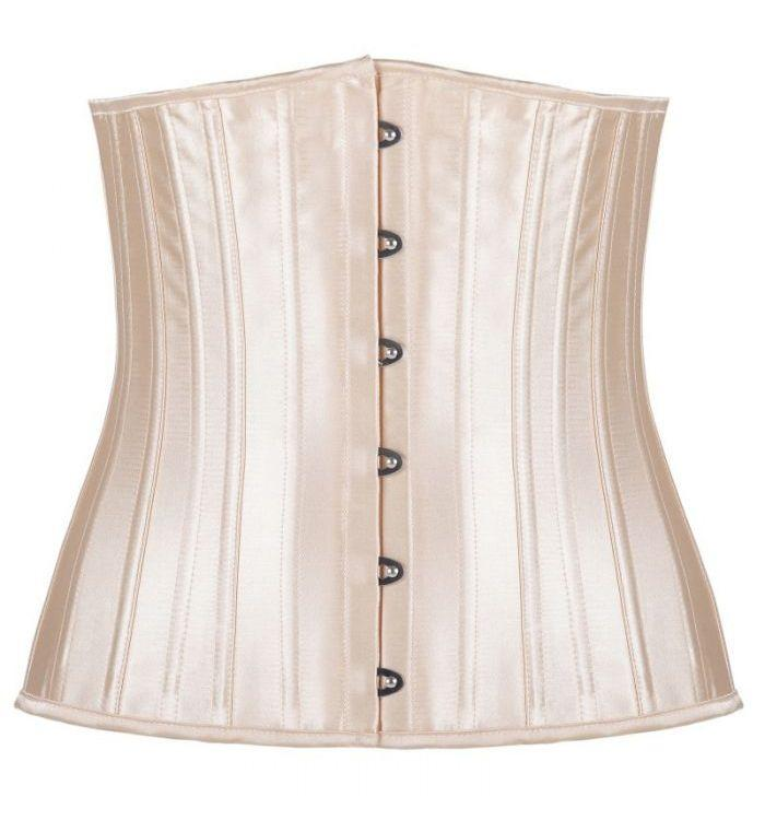 Classic black apricot two colors 24 full steel reinforced girdle corset
