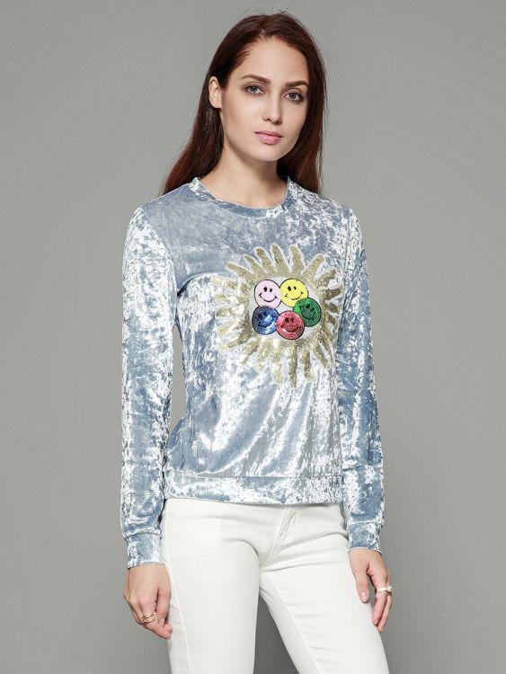 Embroidered Pattern Cheap Fashion Clothes For Women