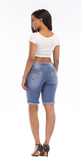 Hand worn out trend personality woman jeans