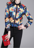 Fashion slim single-breasted long-sleeved versatile lapel female shirt online sale