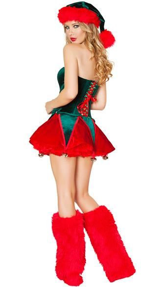 New green red cute charming Christmas costumes