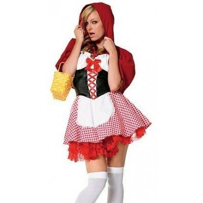 Disney's Little Red Riding Hood maid uniforms temptation