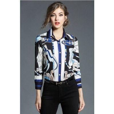 Fashion trend women's autumn long shirt