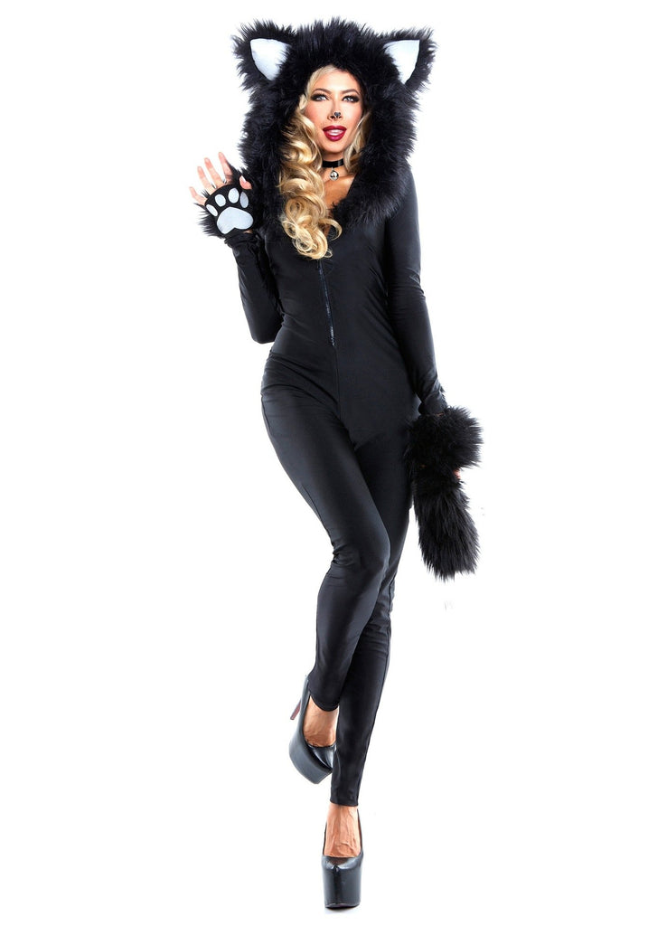 New black bear black fur animal plus size costumes