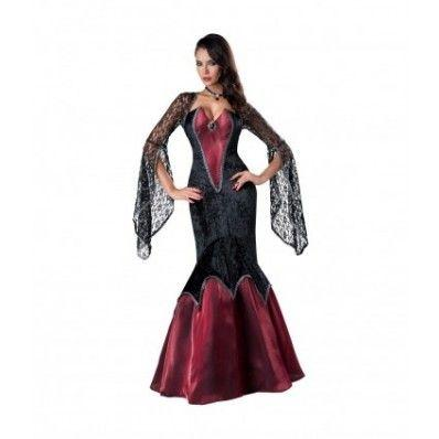 Halloween Noble Vampire queen masquerade party Costumes