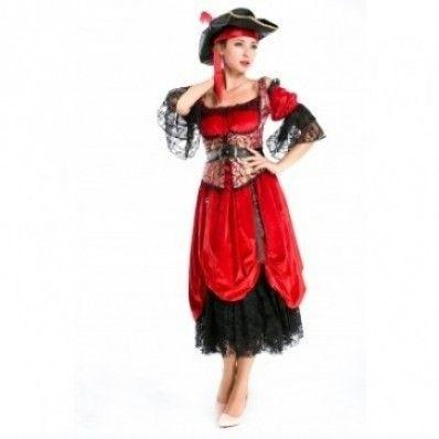 Sexy Lovely Caribbean luxury Women Halloween pirate Costumes