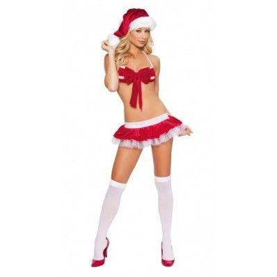Cheap Christmas three-point bikini sexy temptation Christmas costumes