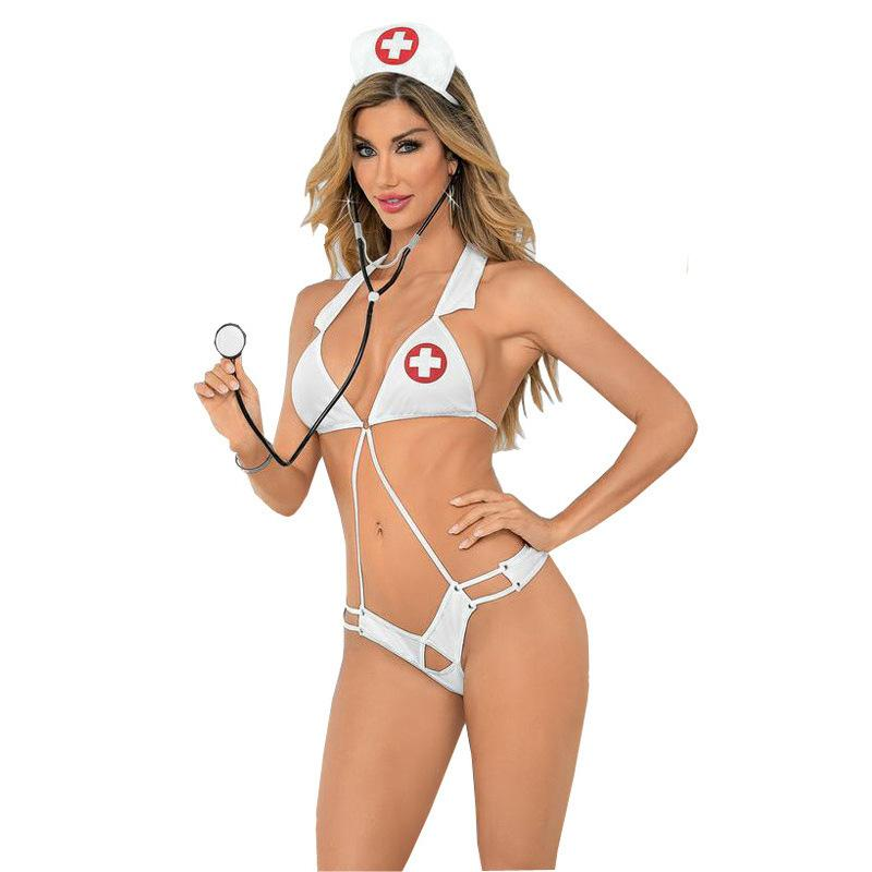 New three-point conjoined nurse costumes temptation