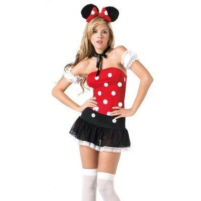 Strapless Sexy Mouse Costumes