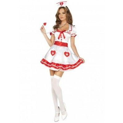 Sexy Nurse Fancy Dress Costumes