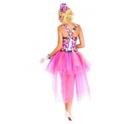 Sexy Halloween Colorful suspenders princess dress