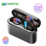 True Wireless Earbuds Bluetooth Earphone Handfree Earphones TWS Wireless Headphones 5.0 Music Bloototh Sports Headphone With Mic