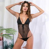 Free shipping Women Bodysuit Sexy Teddy Lingerie Sexy Hot Erotic Bodysuit Catsuit Hollow Out Erotic Lingerie