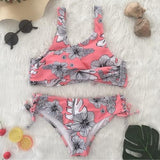 Flora Sexy Bikini Women Swimsuit Push Up Swimwear Summer Beach Biquini Maillot De Bain Swimsuits Plus Size
