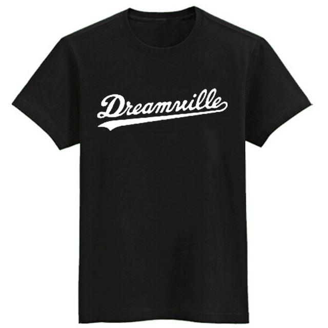 J.COLE same style t-shirts short sleeve t-shirt Dreamville tee shirt hip hop t shirt men brand Jermaine Cole t-shirt cotton