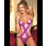 BSexy Teddy Lingerie Sexy Hot Erotic Teddies Bodysuits Women Backless Lace Teddy Nightwear Nightgown Female Negligee