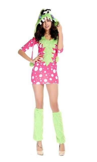 Kigurumi Woman Melody Monster Animal Cosplay Show Disfraces Halloween Costume adult Female pajamas Holiday Festival parade dress