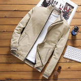 Free shipping DIMUSI Spring Autumn Men's Bomber Jackets Casual Male Outwear Windbreaker Stand Collar Jacket Men's Baseball Slim Coats 5XL