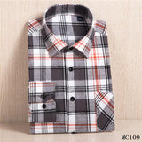 Free shipping Men's Plaid Flannel Shirt Plus Size 5XL 6XL Soft Comfortable Spring Male Slim Fit Business Casual Long-sleeved Shirts