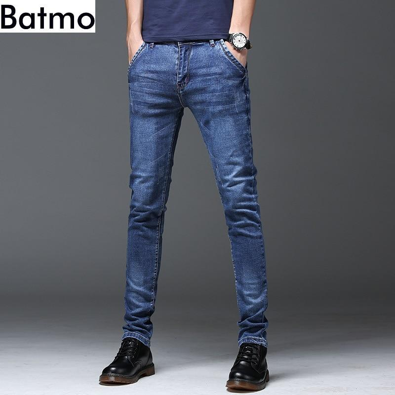 Batmo Free shipping new arrival high quality casual slim jeans men ,men's pencil pants ,skinny jeans