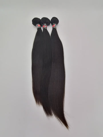 Brasilien Hair Glatt Set.