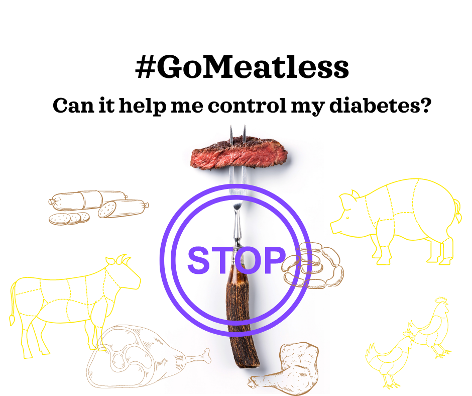 Go Meatless, can it help me control my diabetes?
