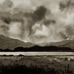 Port Appin (black & white)