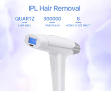 Load image into Gallery viewer, Lescolton 2 in 1 home pulsed light epilator IPL skin rejuvenation / permanent hair removal device, remove body hair / lip bikini