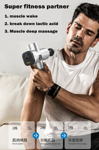 New massage gun PRO Body Deep Muscle Massager Fascia Physiotherapy Massage for Massage Relieving Pain Workout Massage Machine