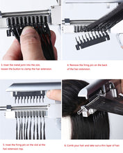 Load image into Gallery viewer, micsunly 6D hair extension machine, 6D hair extension tool, First generation 6D hair extension machine