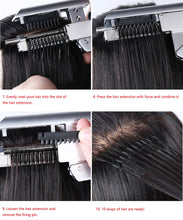 Load image into Gallery viewer, 2nd Generation 6D hair extension machine/ human hair extension tools/ wig connector Easy to use fast Hair extension