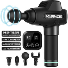 Load image into Gallery viewer, Muscle massager Massage gun