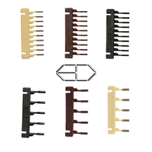 Load image into Gallery viewer, 6D Hair Buckle for 6D Hairextension machine 40units/boxs Remy Hair Wig Connector tools free shipping