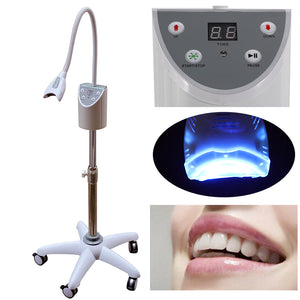MD666 LED Dental Mobile Teeth Whitening Accelerator Bleaching LED Light Lamp Oral Care Pro teeth bleaching system