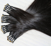 Load image into Gallery viewer, 6D2 Hair Extension, Virgin Hair, 6D Virgin Hair, 6D Hair Bundle
