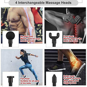 MICSUNLY muscle Massage gun Fascia Physiotherapy Massager  Workout Fitness Machine 30 level adjustable Muscle Trainer Unisex
